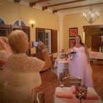 Inside the Casa Grande Suite, our reception...
