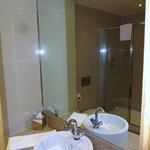 Nice en-suite with very large shower cubicle