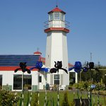 Lighthouse at winery