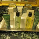 Bath products in Executive room