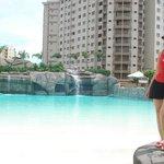 piscina de ondas do water park