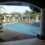 Pool from bar area