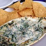 Blue Crab and Artichoke dip. Awesome!