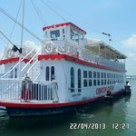 The Cancun Queen, cruise included with Club or Golden Rooms.  Party boat with great people!