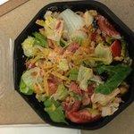 chipotle chicken salad - yum!