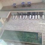 vista desde mi habitación del 5to piso