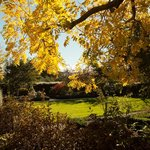 The formal garden in Autumn