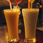 Yummy fruit shakes