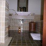 ванная комната номера категории Grand DeLux