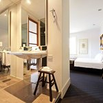The vanity in The Juliet Room at The Australasian