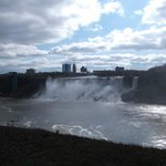 The American Falls from the Canadian side.