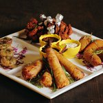 Spoilt for Choice order the The Patio Mixed Tapa's Platter : Your choice of any four tapas