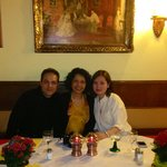 Me, Fatima & my wife