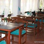 The open air restaurant