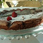 chocolate cake from Cooking in Provence