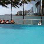 Pool overlooking the Bay