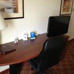 Work area in room