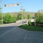 Bridge next to the Hotel