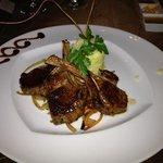 lamb, very good!