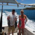 Deep Sea Fishing with our Tunas