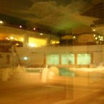 Misty! The indoor Greek onsen