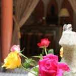 La fontaine aux roses