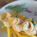 Involtini di salmone affumicato- una delicia!