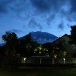 Blick auf den Gunung Agung (höchste Erhebung Balis)
