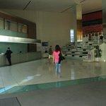 De lobby met reception