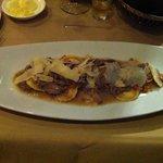 Butternut squash ravioli with duck ragout was amazing