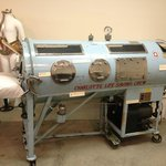 Iron lung (used for polio victims)