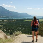 What a view! Enjoying the view on a guided hike to the Hoodoos
