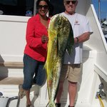 Mahi Mahi with Dick and Meera Rosser