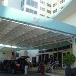 Ingreso al hotel, Vallet Parking