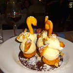 A different sort of profiterole at Le Canard