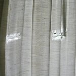 Worn and Torn Curtains