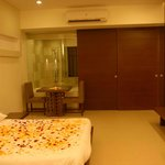 Bedroom Of Luxury / Luxury Plus Room - Crown Club