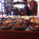comida típica catalana, mucha variedad y muy buena calidad.