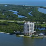 Aerial of Lovers Key State Park