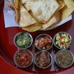 House made salsas
