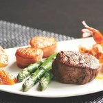 Mixed Grill- shrimp, scallops and steak