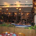 Dining area, Brown's Wharf Restaurant, Boothbay Harbor, ME