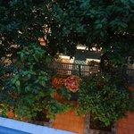 vue depuis le balcon du 1er
