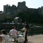 View of Pembroke castle