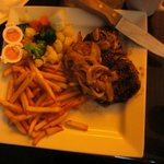 New York striploin steak