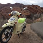 Red Rocks Amphitheater trip on Rented Scooter from ScooTours Denver