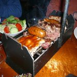 molto comodo per tenere calda la carne