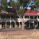 The historic Bethungra Hotel, The Shirley, as viewed from across the street.