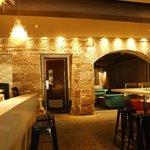 bar/restaurant - beautiful wall