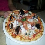 La pizza....Caletta